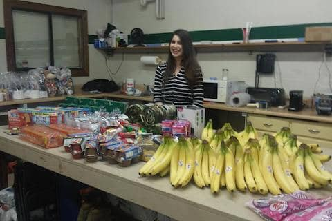 Volunteering with Monthly Miracles