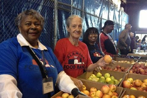AFB volunteers work in a fun in a family-like environment