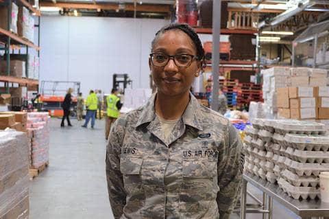 Technical Sergeant Ariella Lewis, National Guard