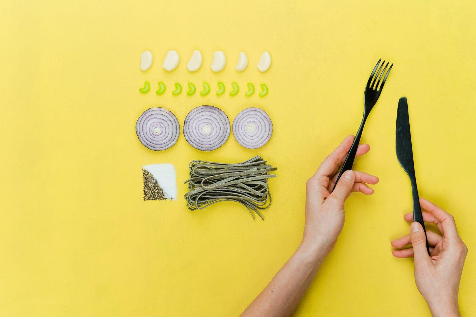 Illustration imaginaire de la nourriture
