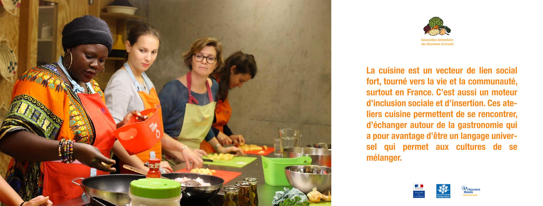 Fausse Association Alimentaire cuisine et migrants, Design Fiction, Imaginaire