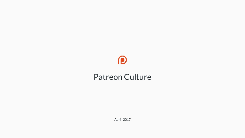 Patreon Culture