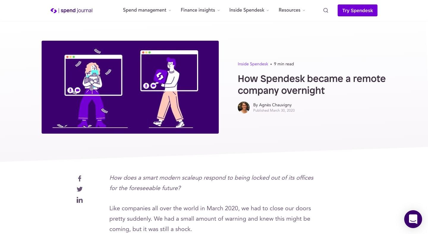 How Spendesk became a remote company overnight