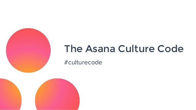 The Asana Culture Code