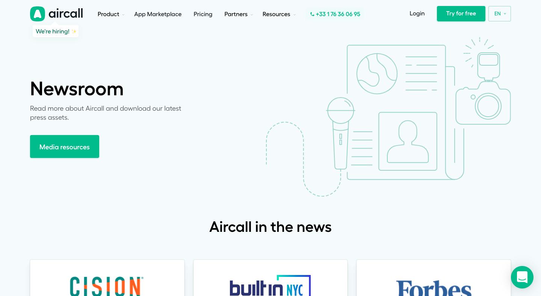 Aircall's Newsroom