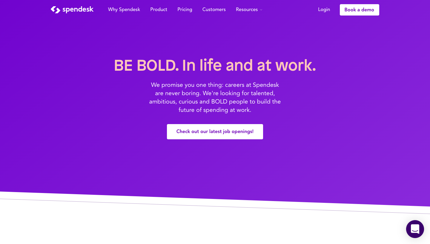 Spendesk's Career Page