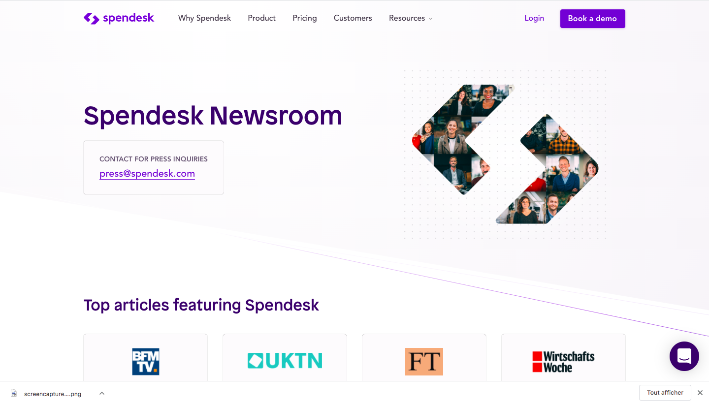Spendesk's Newsroom