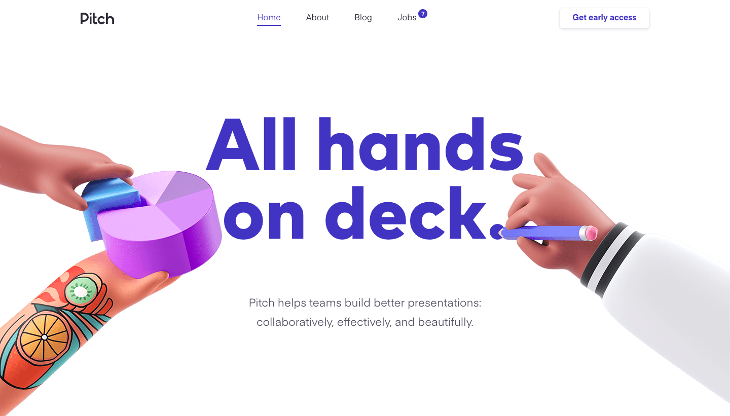 Pitch Landing Page