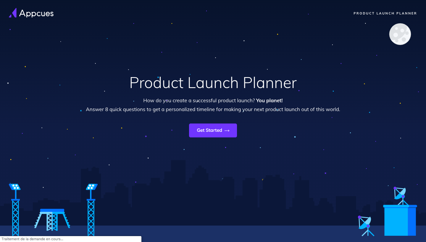 Appcues Product Launch Planner