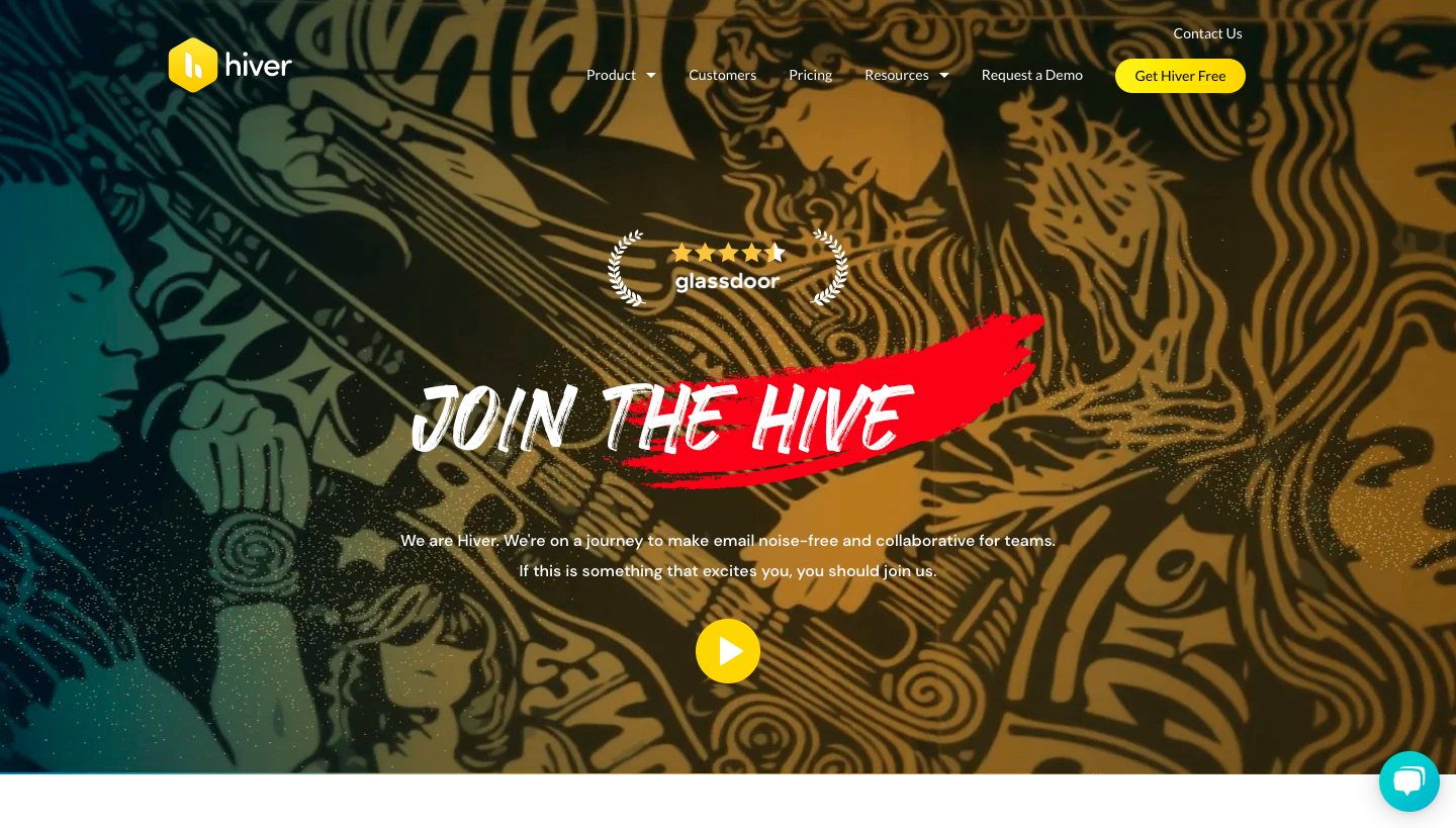 Hiver Careers Page