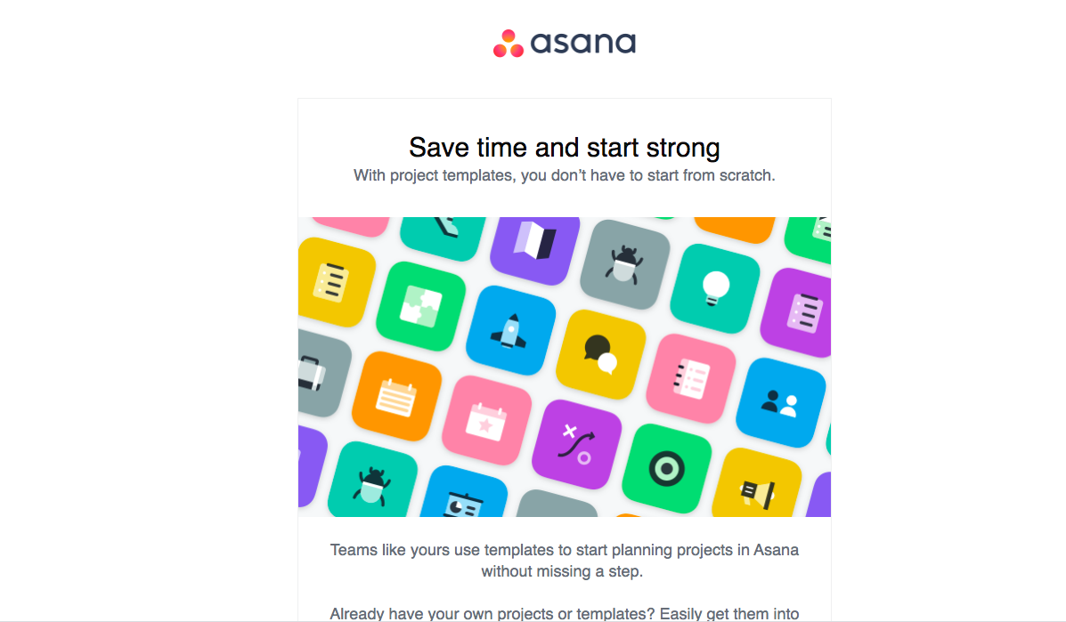 Asana Onboarding Email Flow