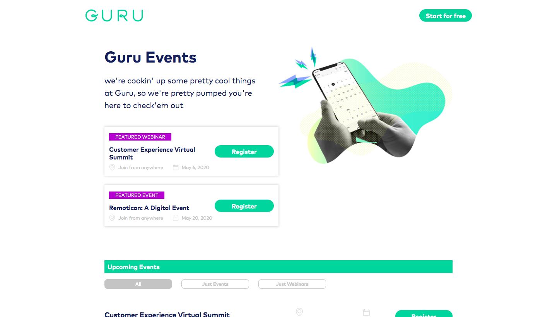 Guru Events
