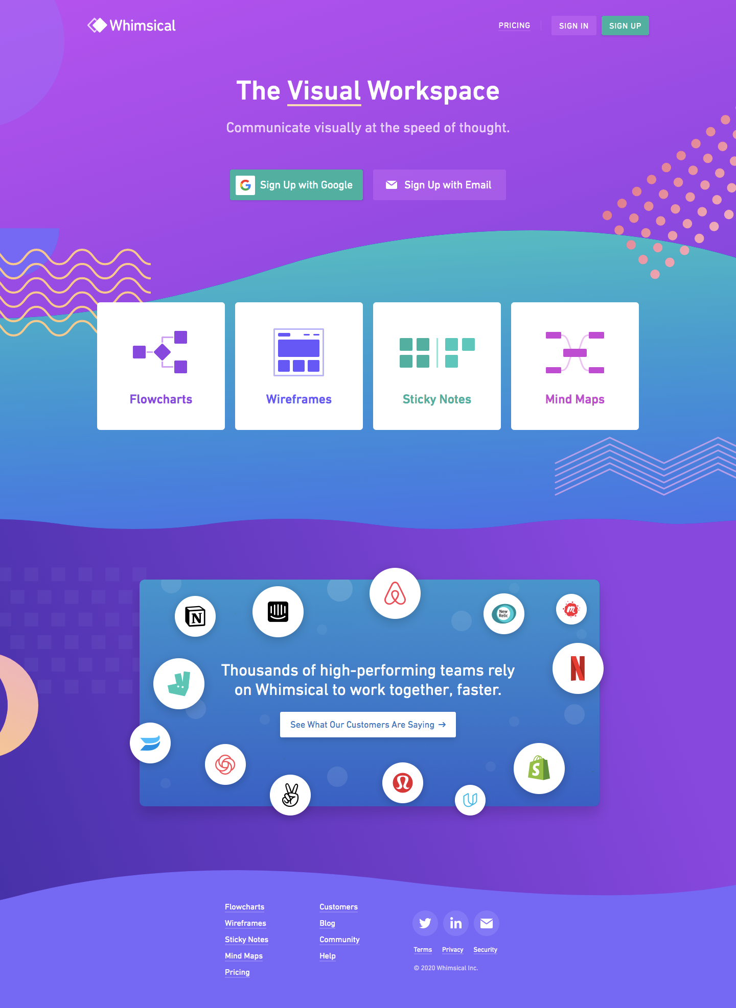 Whimsical Landing Page