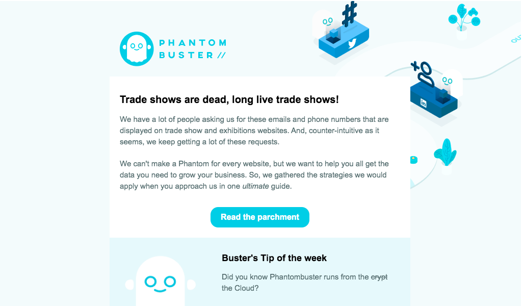 Phantombuster Newsletters