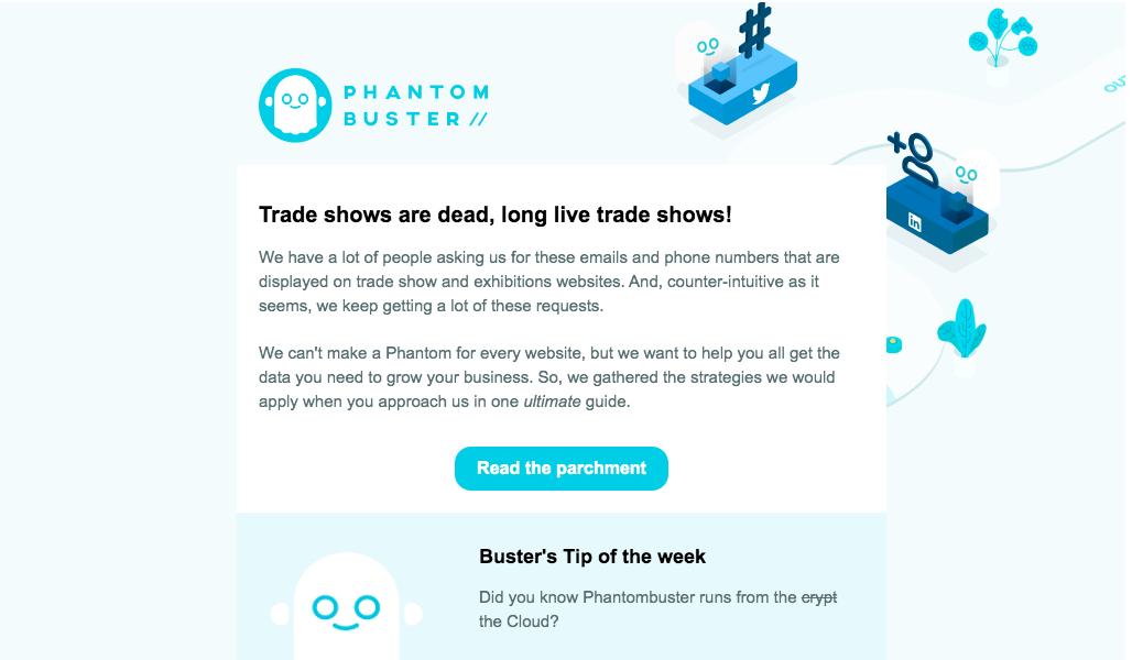 Phantombuster Newsletters