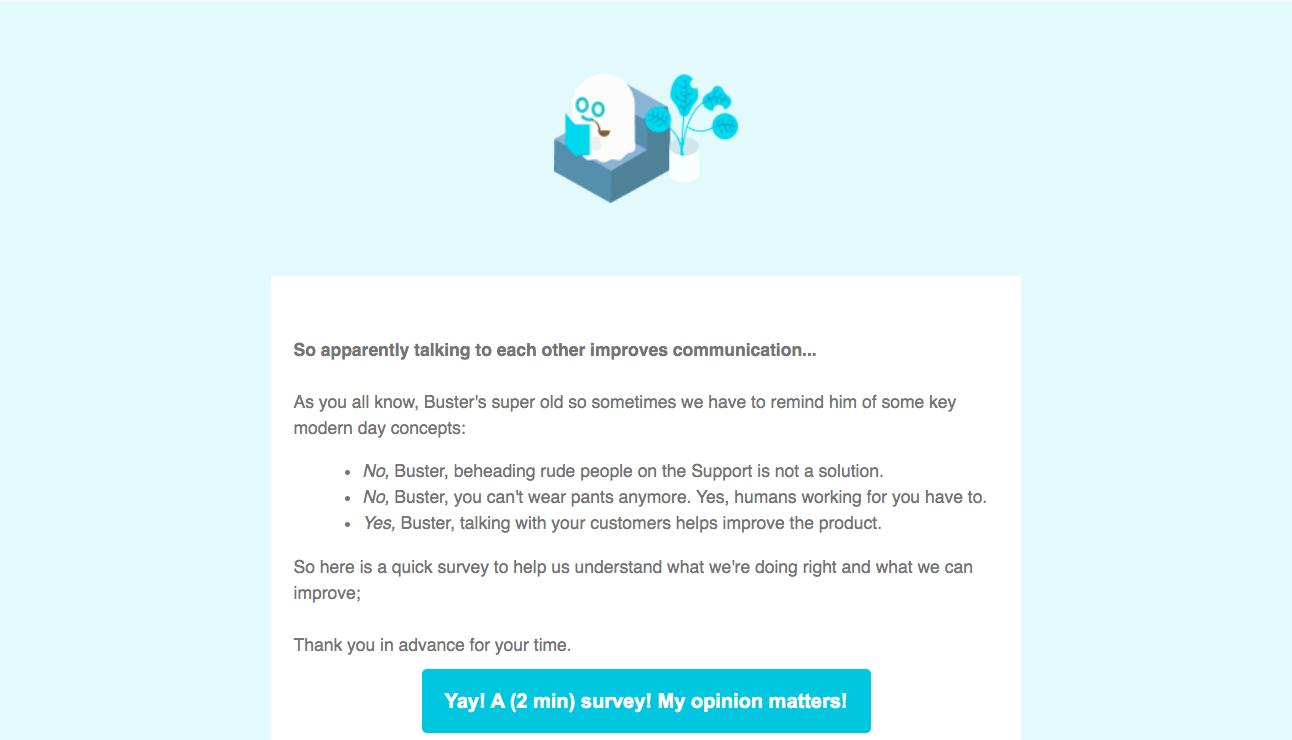 Phantombuster Survey Emails