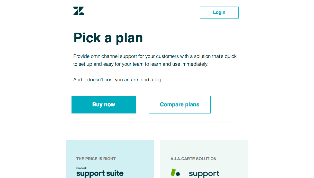 Zendesk Free Trial Emails