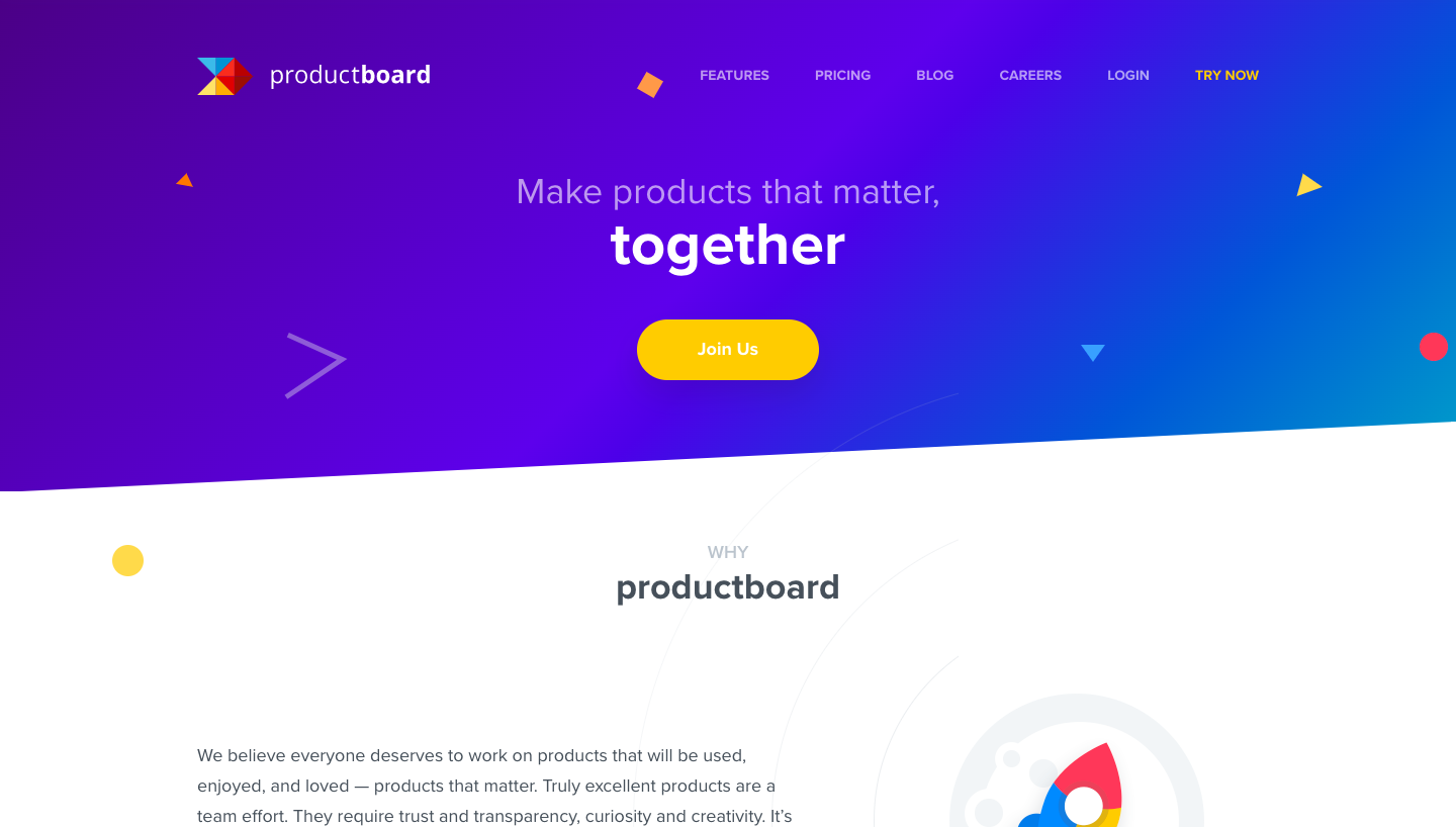 Productboard About Page