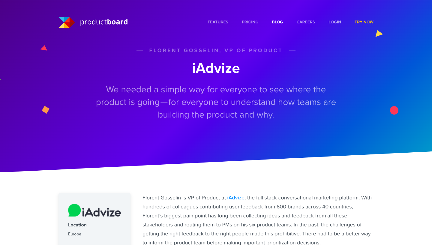 Productboard Customer Story