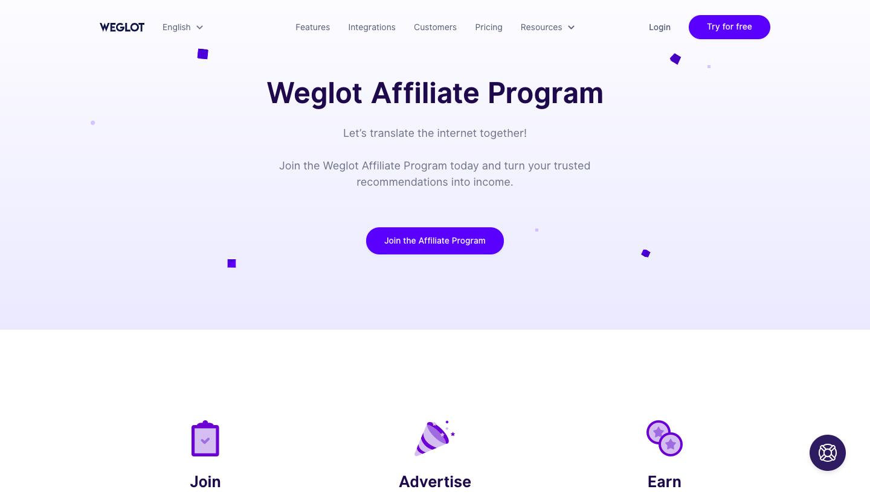 Weglot Affiliate Program