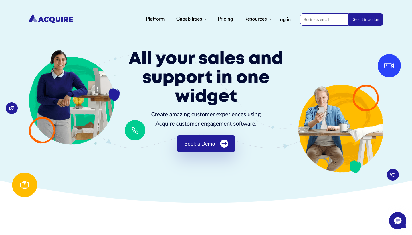 Acquire Landing Page