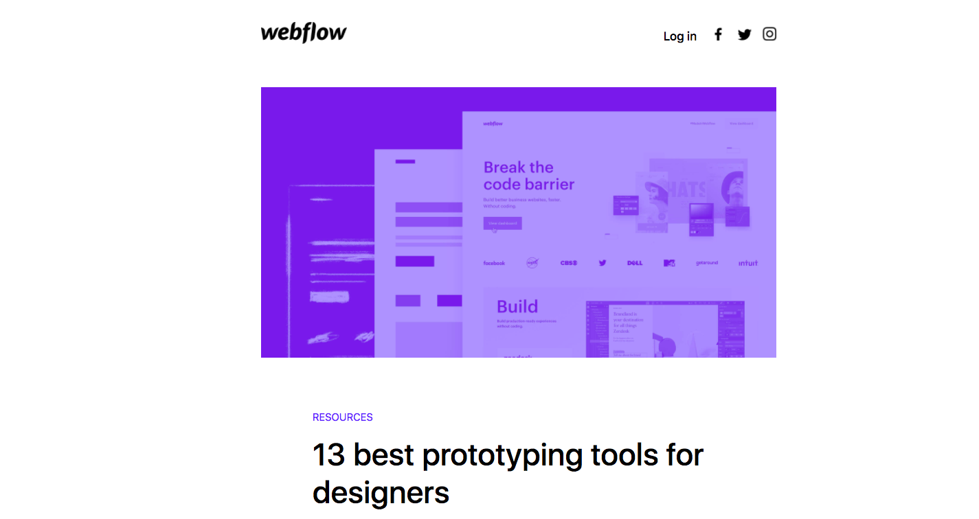 Webflow Newsletters