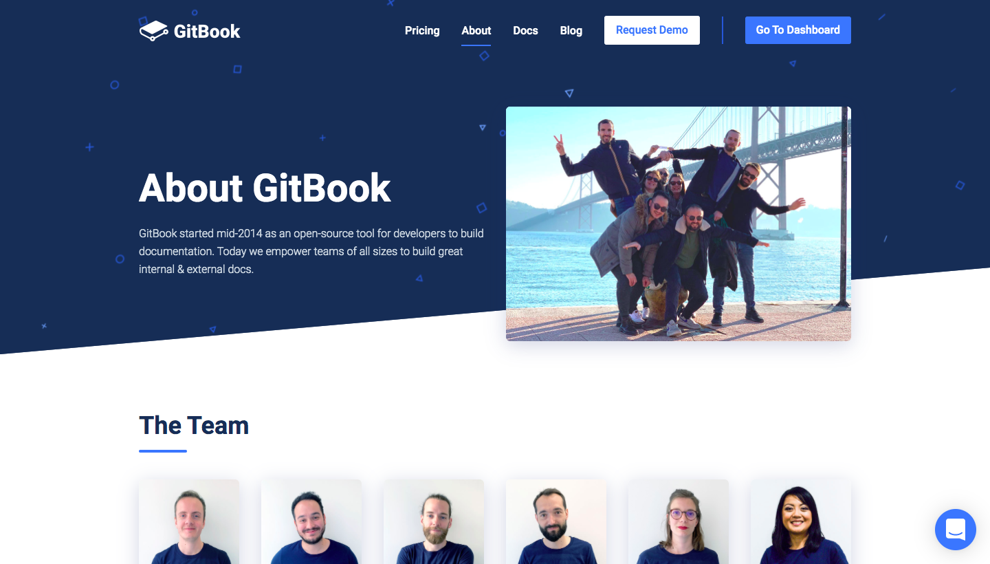 GitBook About Page