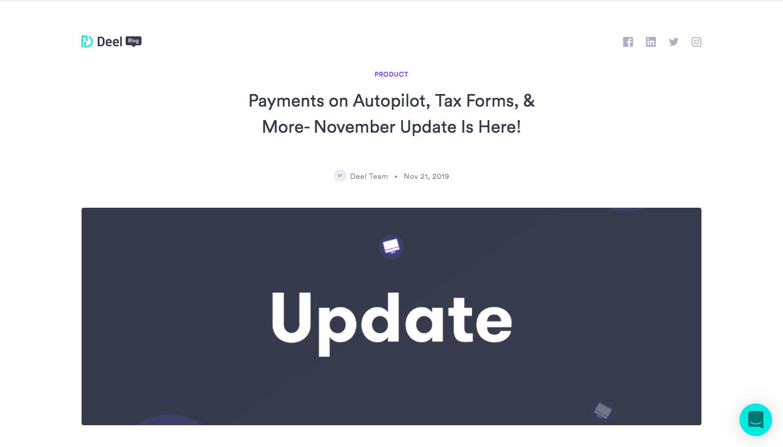 Deel Product Updates