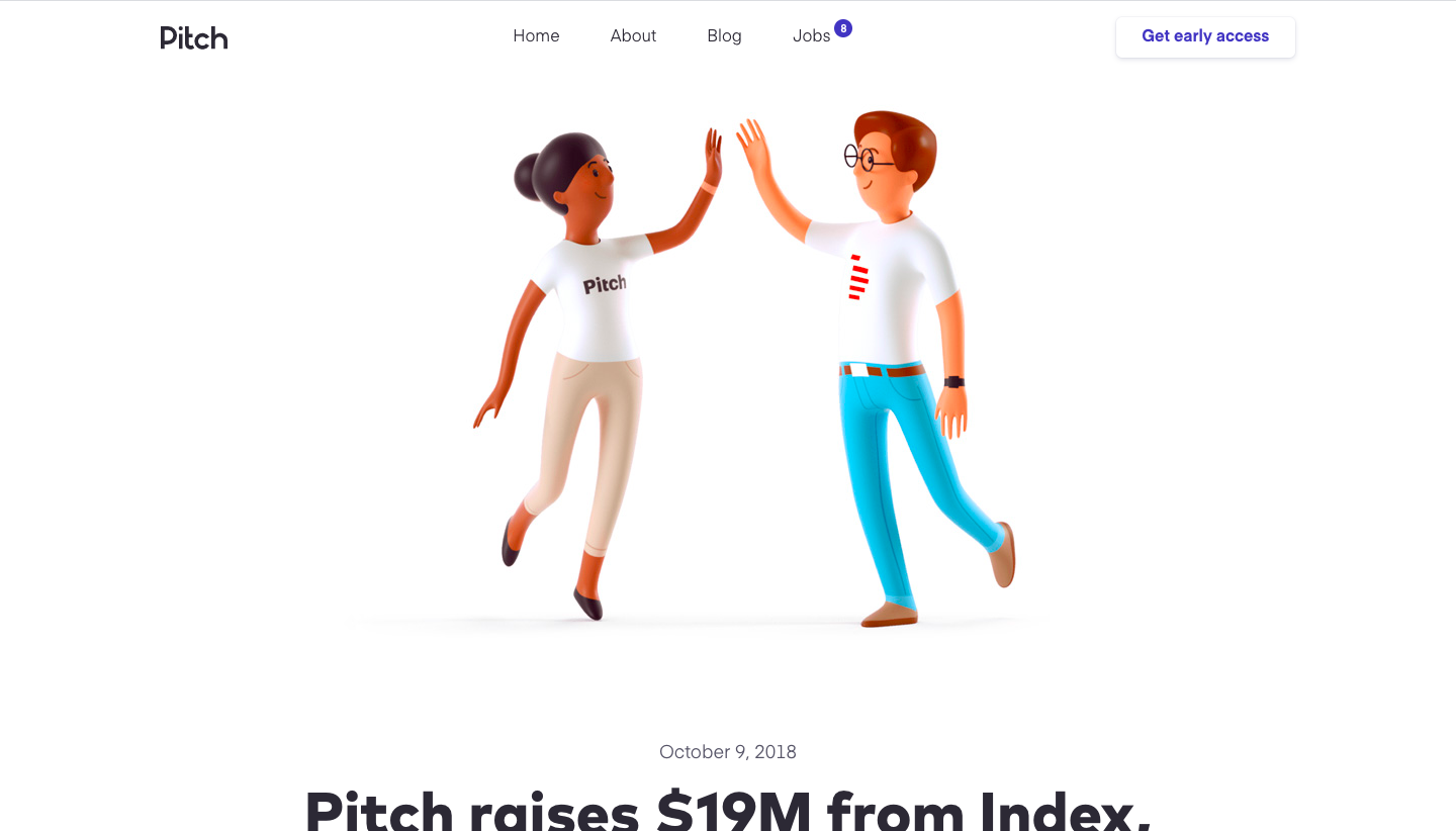 Pitch Funding Announcement