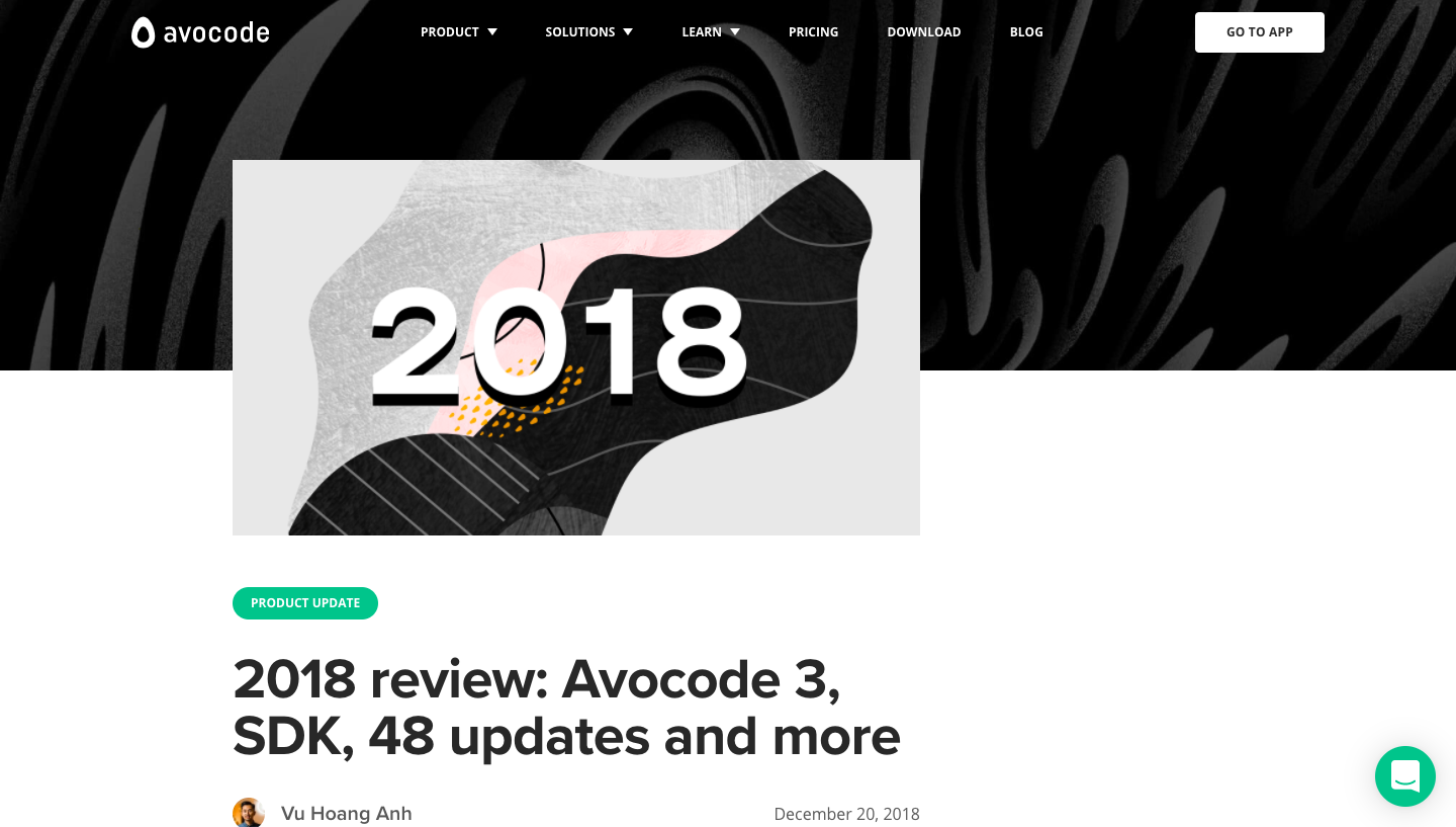 Avocode Year Review