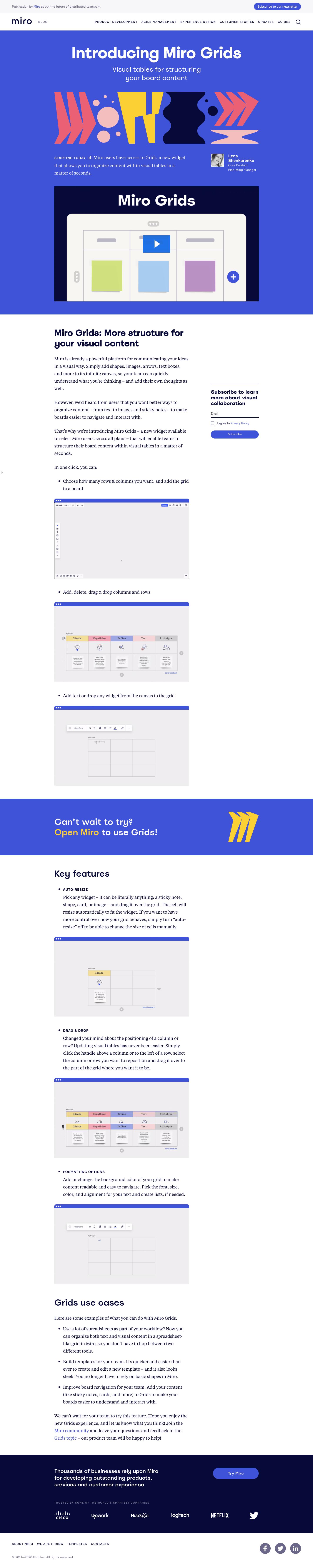 Miro Product Updates