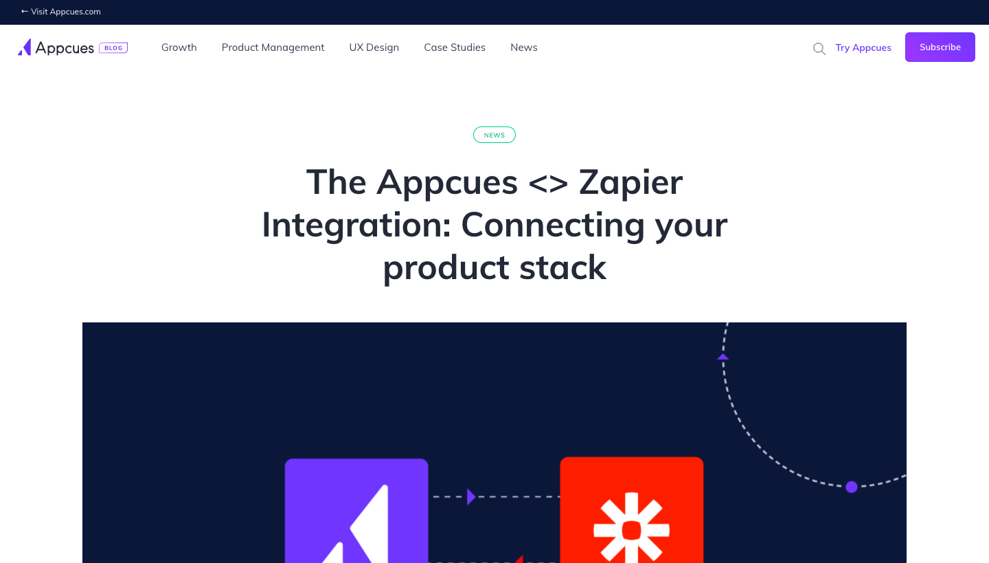 Appcues New Integration