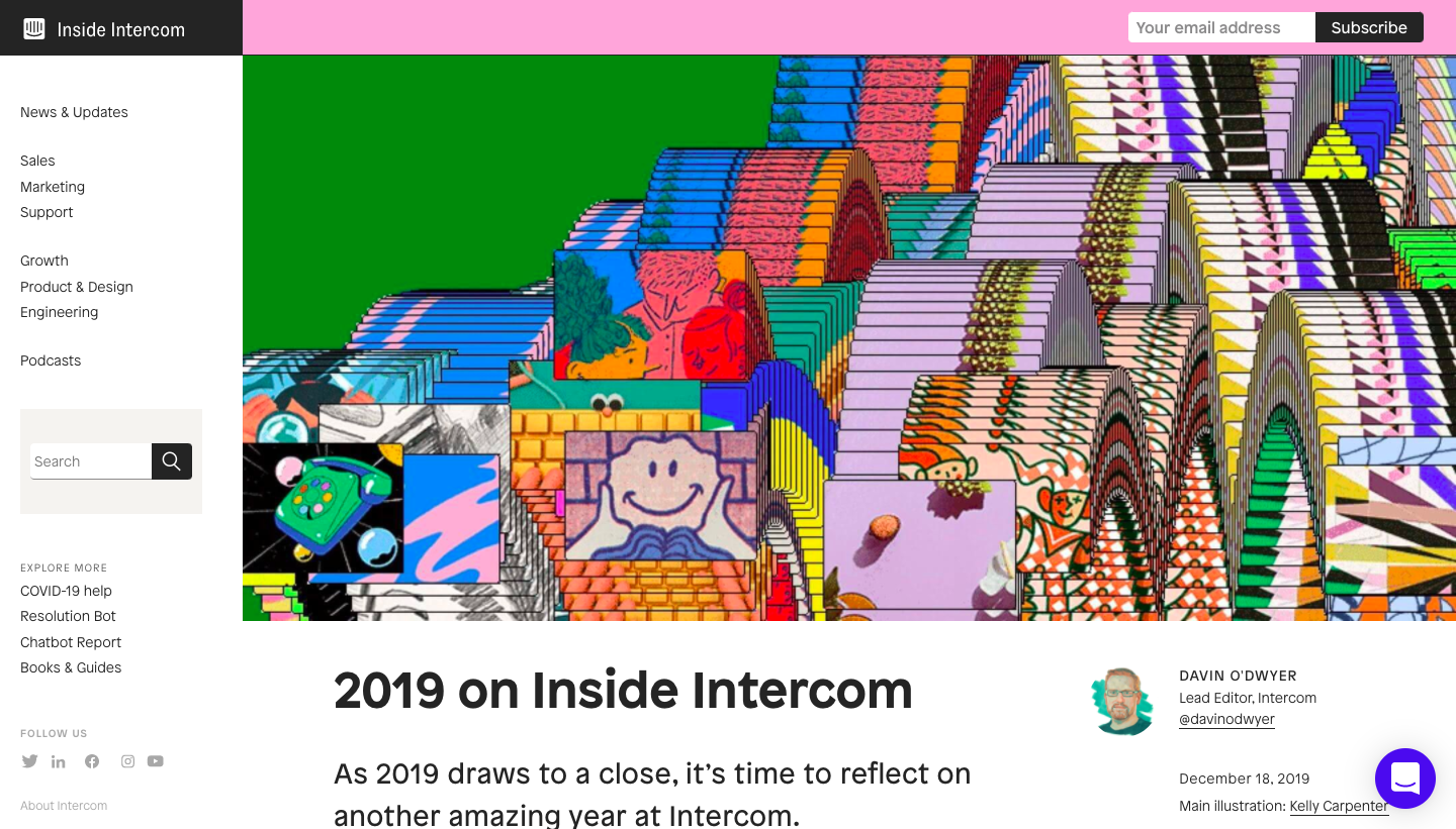 Intercom Year Review
