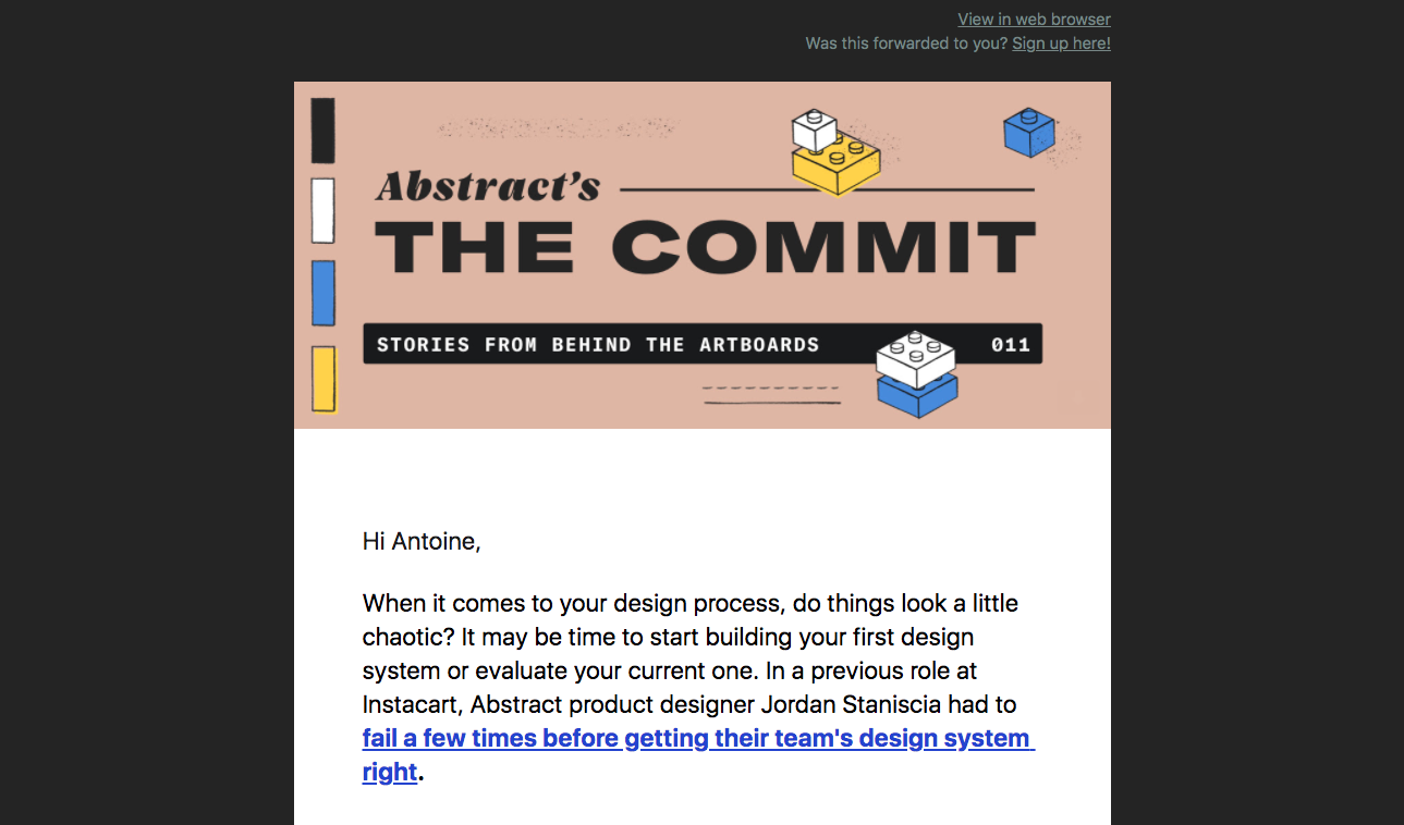 Abstract Newsletter