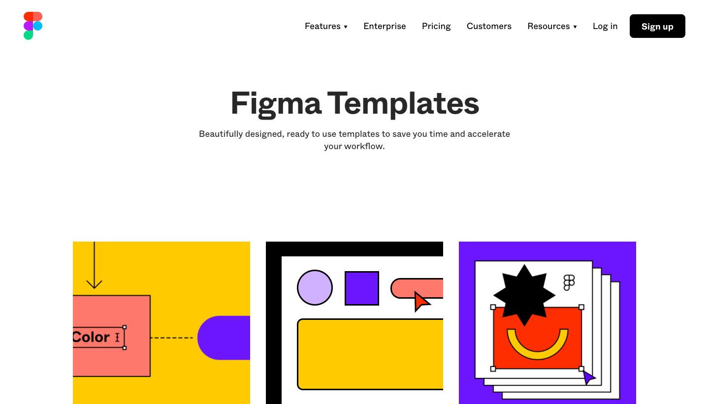 Figma Templates Library