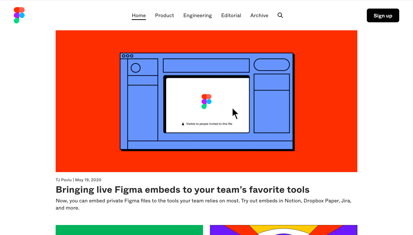 Figma Blog Feed