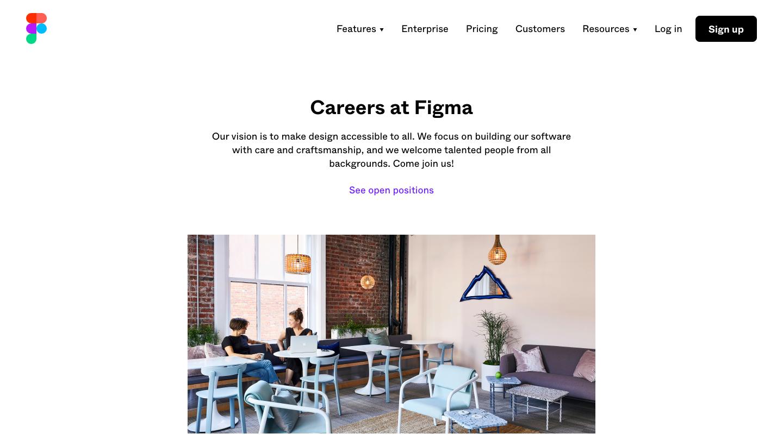 Figma Careers Page
