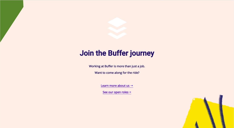 Buffer Careers Page