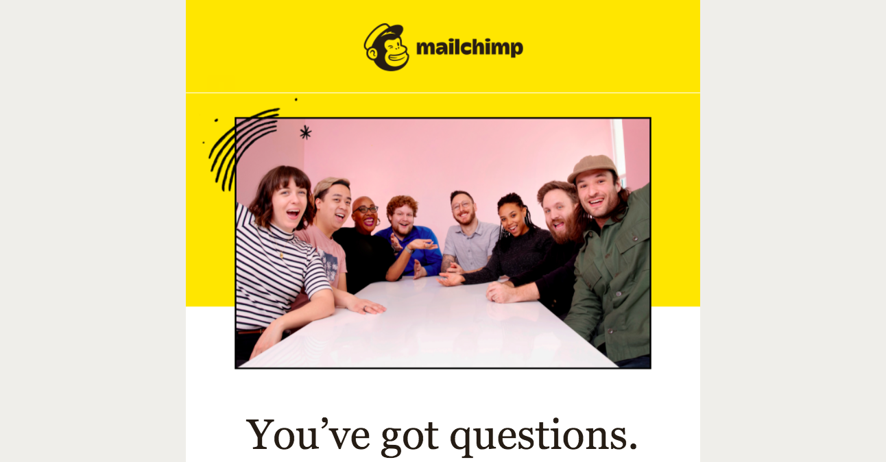 Mailchimp Onboarding Email Flow