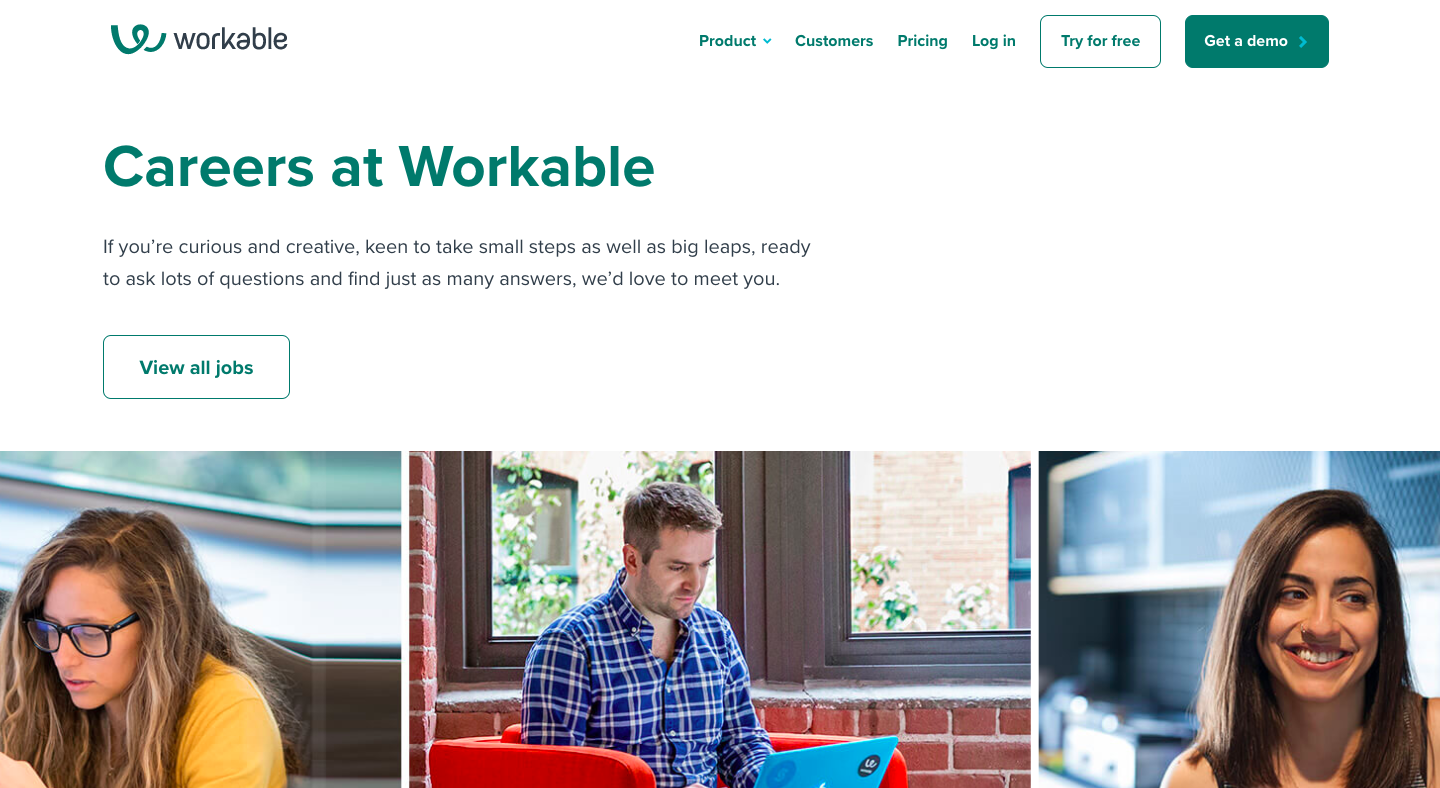 Workable Careers Page