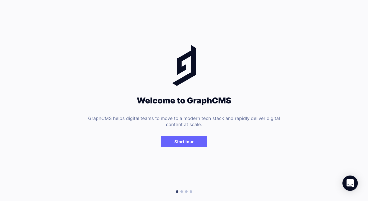 GraphCMS User Onboarding