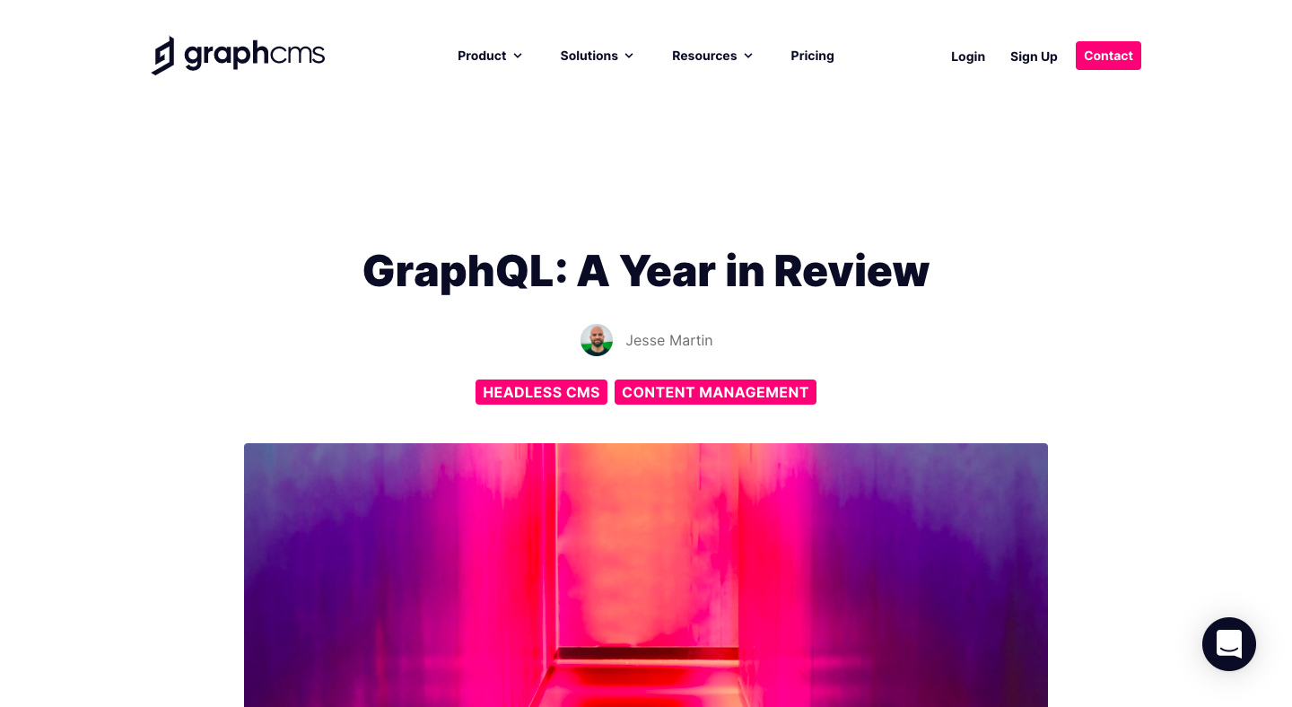 GraphCMS Year in Review