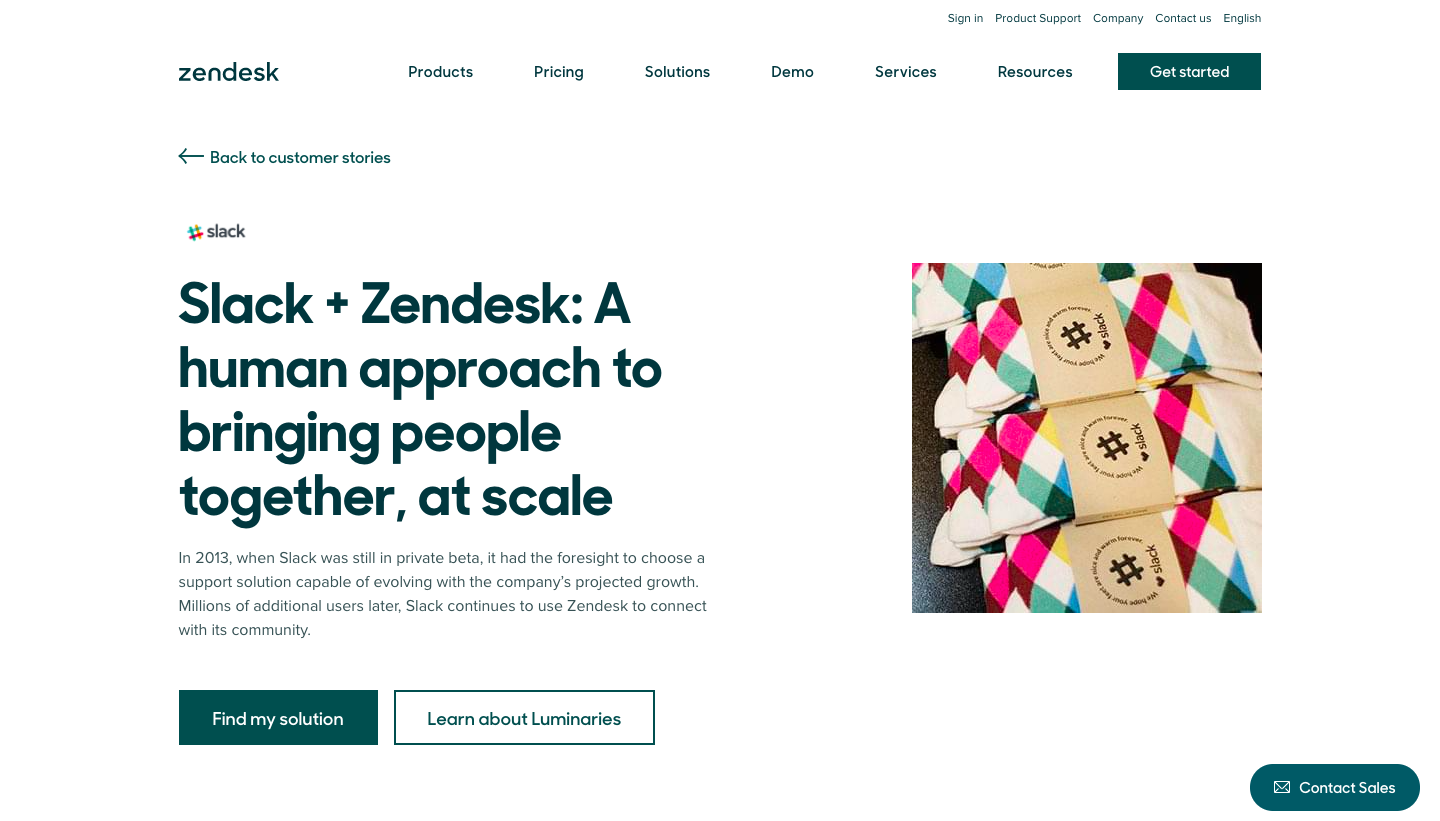 Zendesk Customer Stories