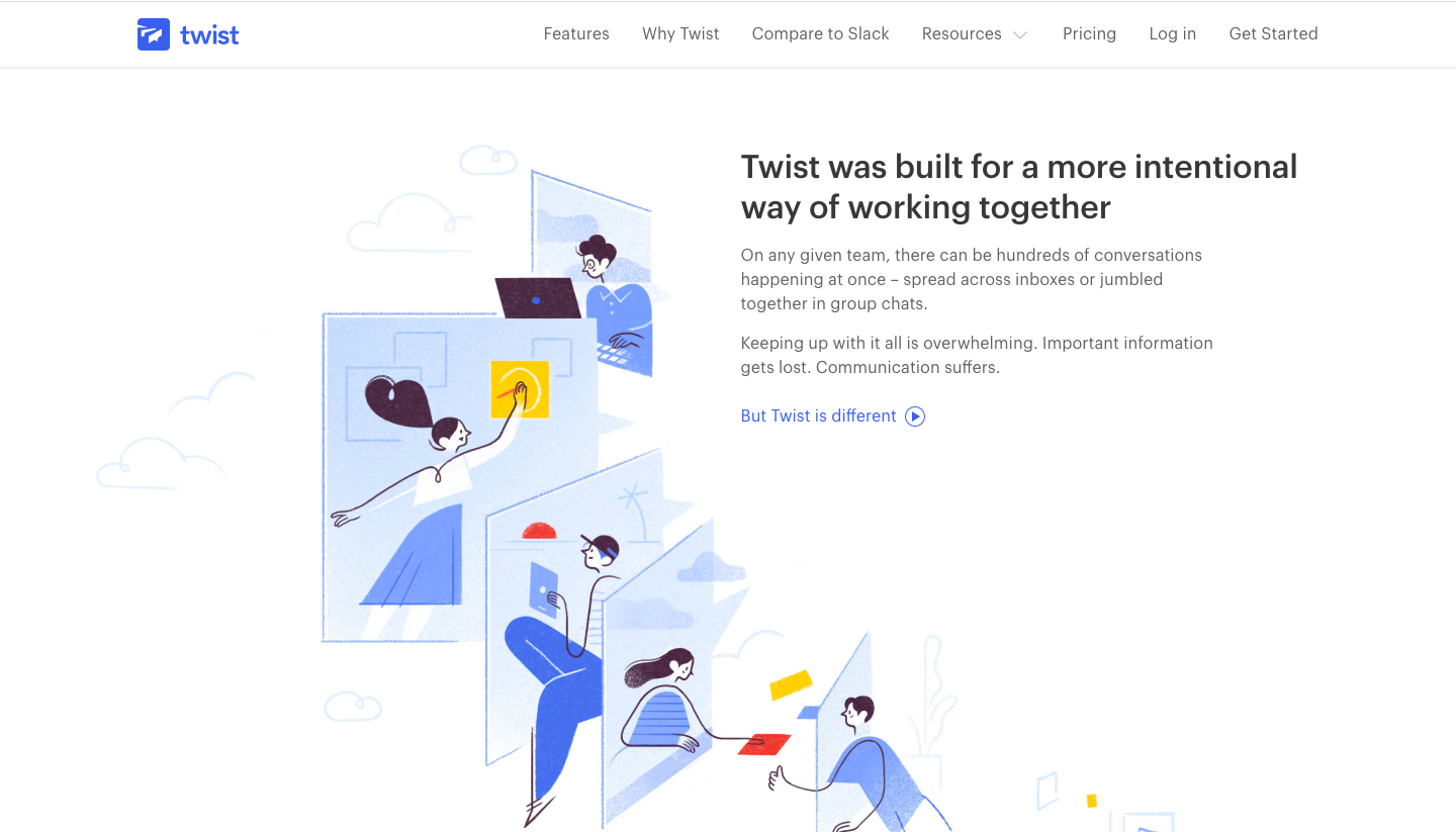 Twist Features Page