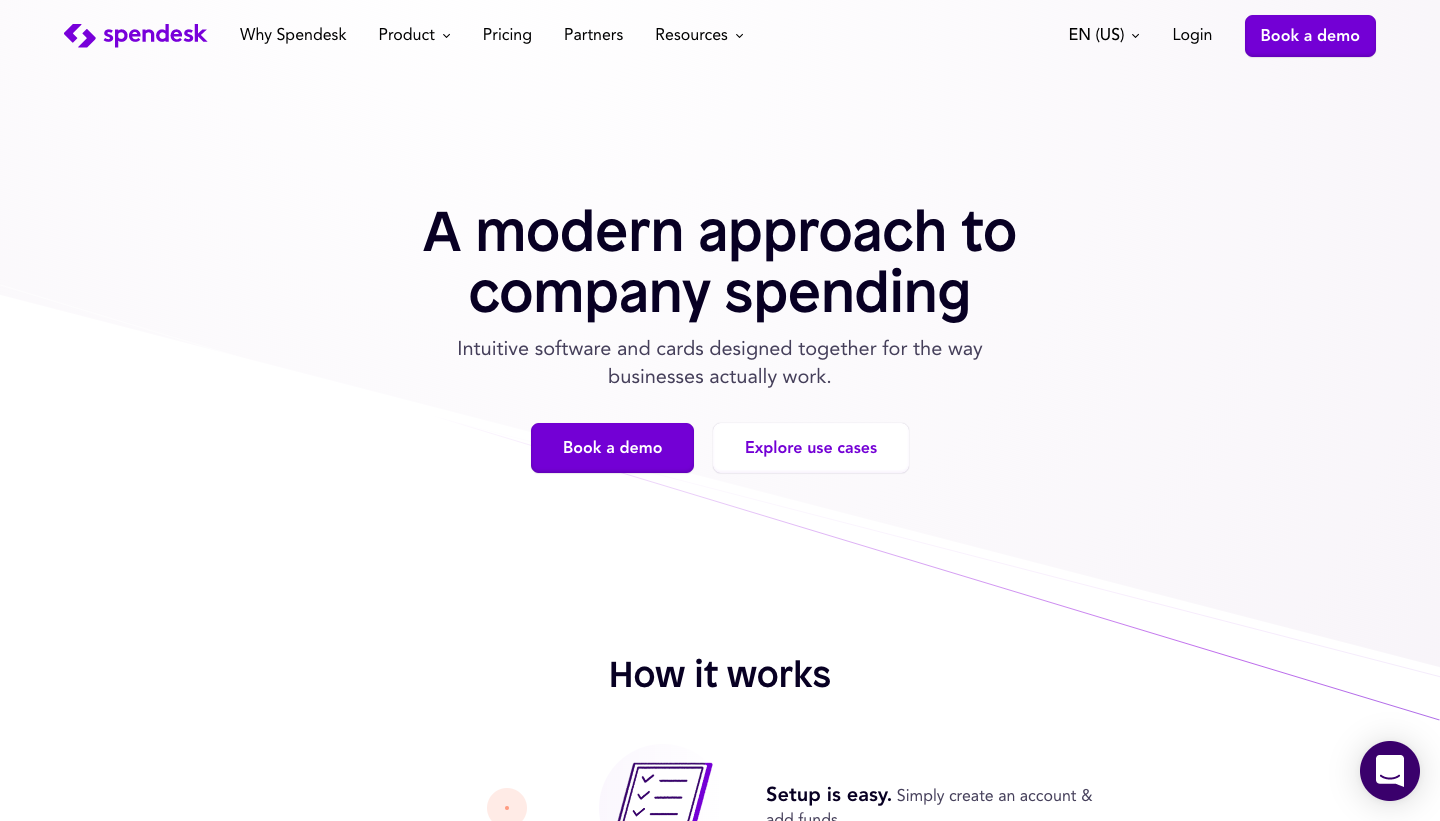 Spendesk Features Page