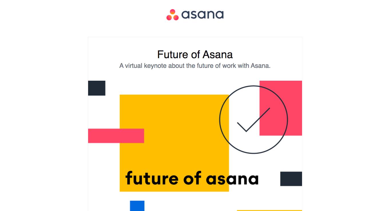Asana Webinars Emails