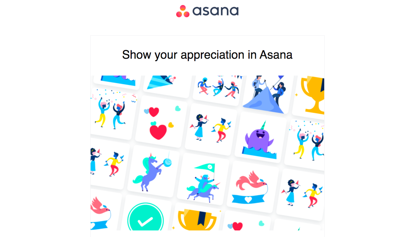 Asana New Features Emails