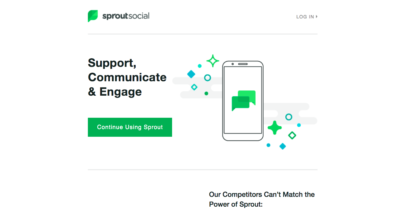 Sprout Social Retention Emails