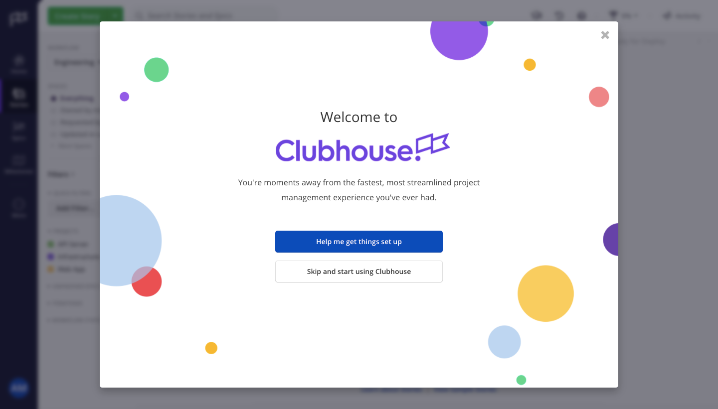 Clubhouse User Onboarding