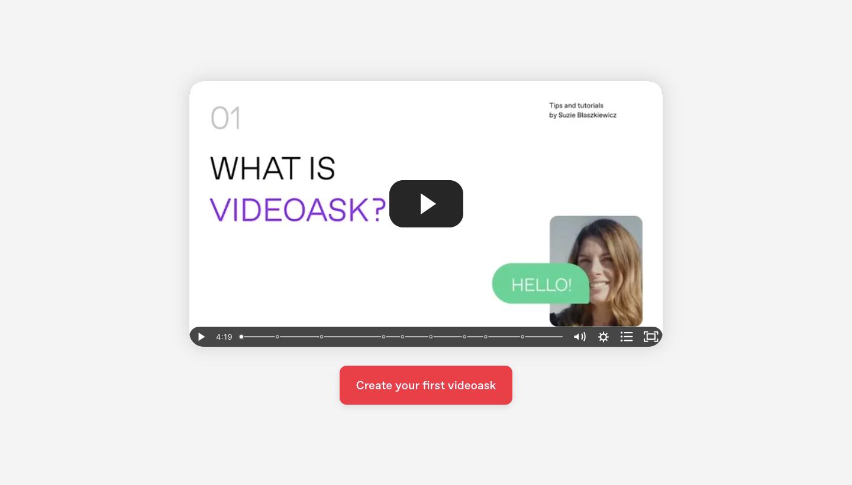 VideoAsk User Onboarding